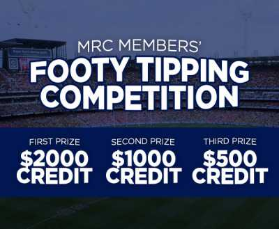Members Footy Tipping Competition!