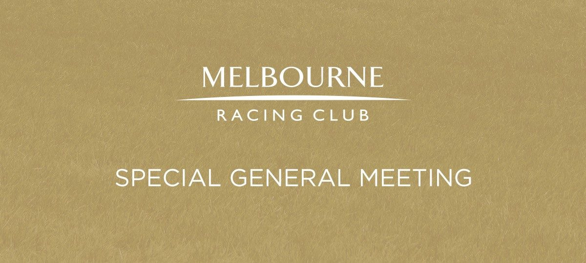 Special General Meeting Update