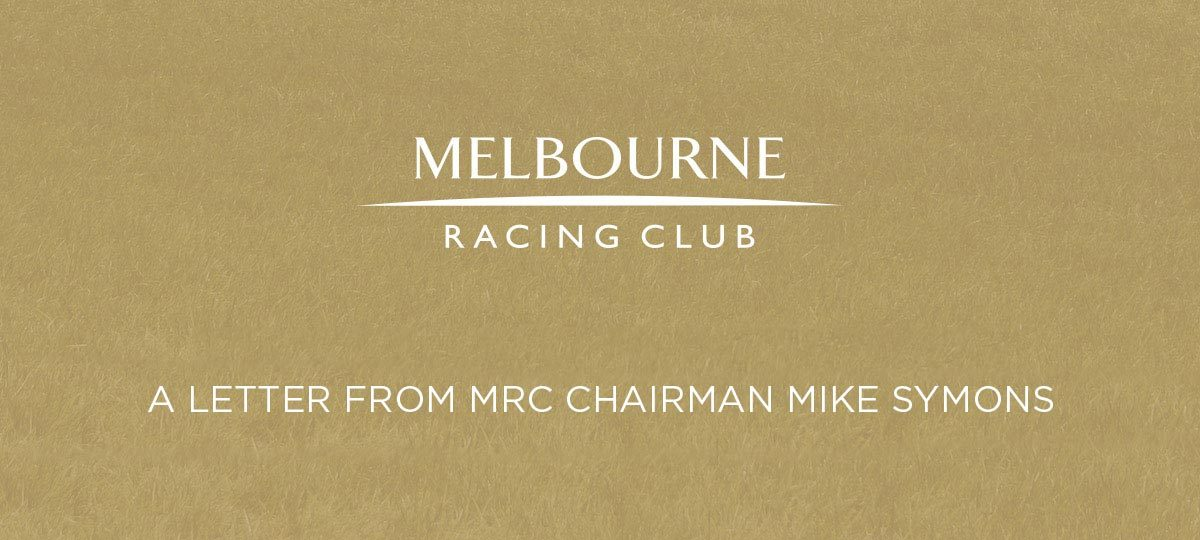 Statement from Chairman Mike Symons