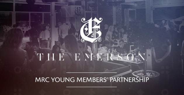 MRC Young Members' & The Emerson join forces for 2017-18