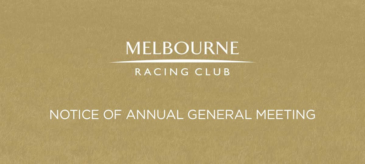 Annual General Meeting – Details Coming Soon